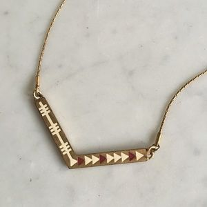 Madewell Arrowstamp Necklace